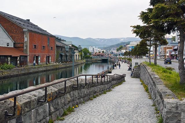 小樽 - Canal road