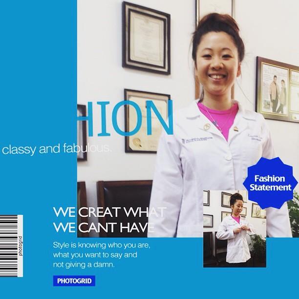 Seleh 's custom lab jacket #happy Dentist#student #all smi