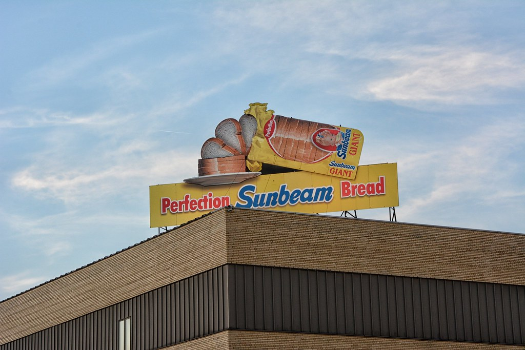 Sunbeam Bread Sign Fort Wayne
