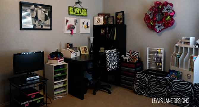 Craft Room Ideas & Tour