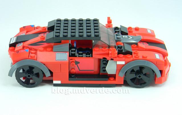 Transformers Sideswipe Kre-O - modo alterno