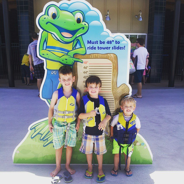 Such a fun day with these sweetie boys. Summer gets more fun each year! #mboys2015
