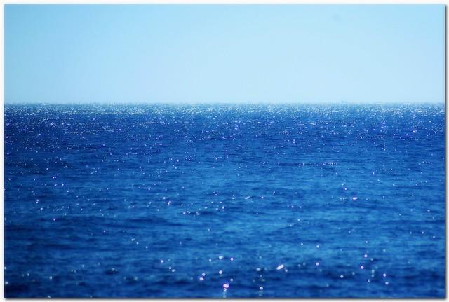 0185 二人、海を眺めてた