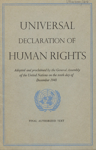 """Universal Declaration of Human Rights (1948)   """"All human ... Universal Declaration Of Human Rights 1948"""