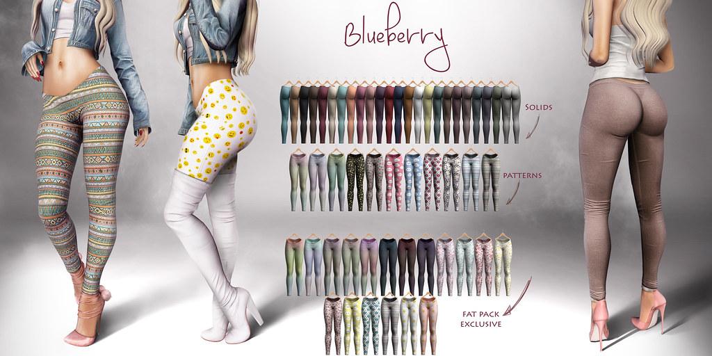 Blueberry Cake Leggings @ Main Store