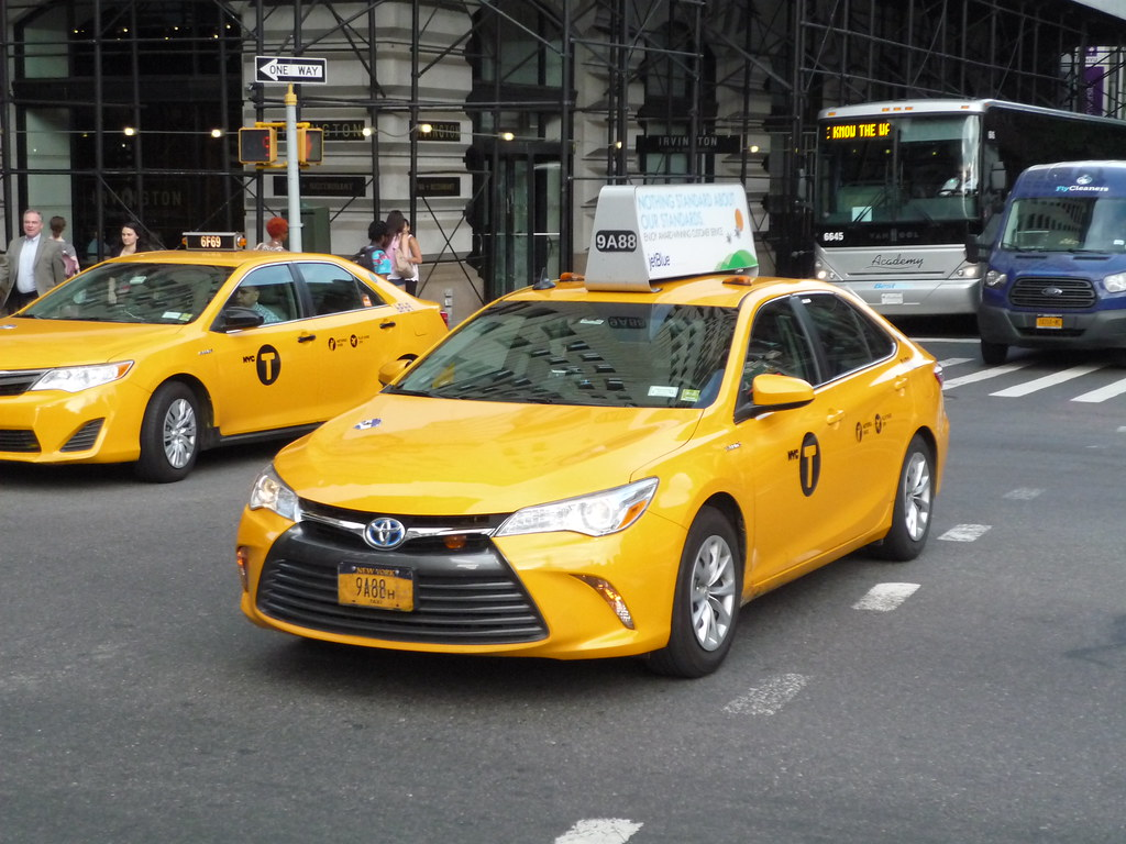 Nyc Taxi Toyota Camry Jason Lawrence Flickr