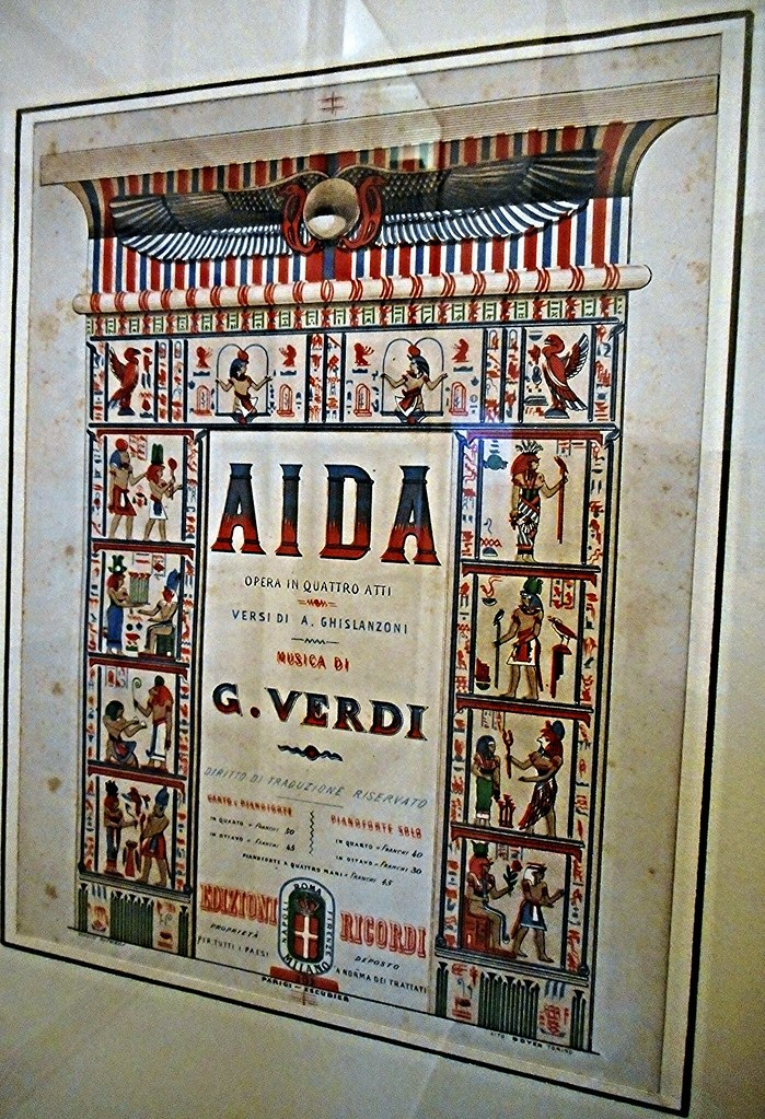 playbill for the first performance of  u0026quot aida u0026quot  by giuseppe v u2026