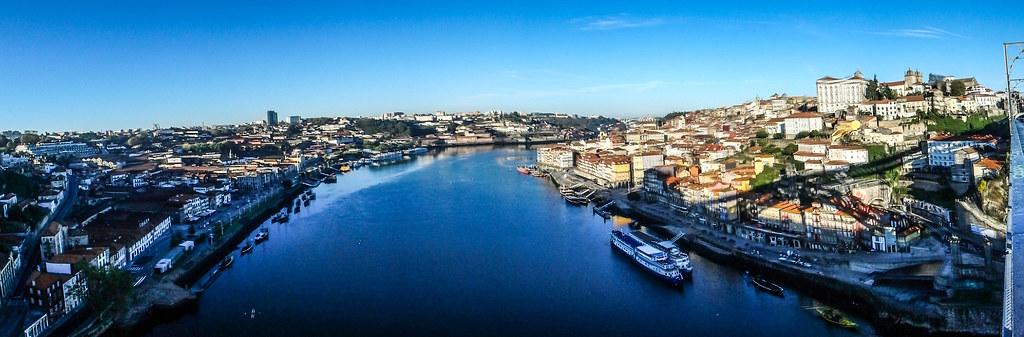 PB130137 Pano Oporto Panos Oporto Portugal