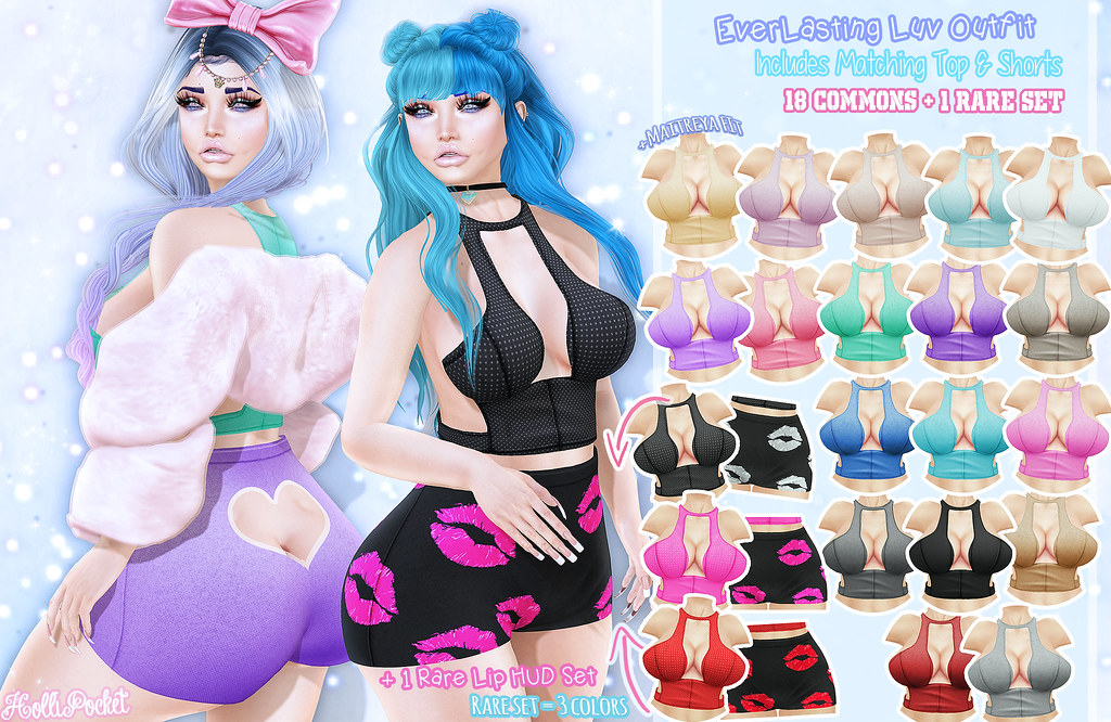 HolliPocket-Everlasting Luv Outfit Ad