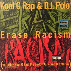 KOOL G RAP & D.J. POLO:ERASE RACISM(JACKET A)