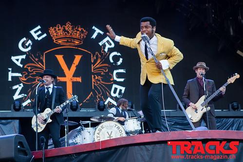 Vintage Trouble @ Letzigrund - Zurich