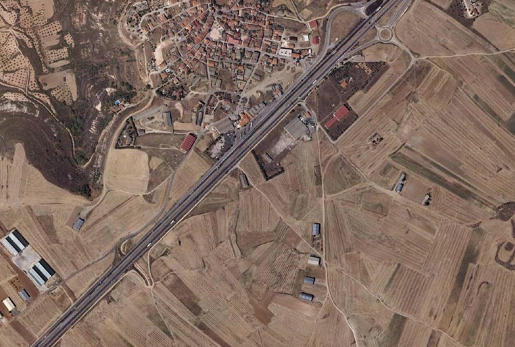 trijueque. guadalajara, poligoneque, antes, urbanismo, planeamiento, urbano, desastre, urbanístico, construcción