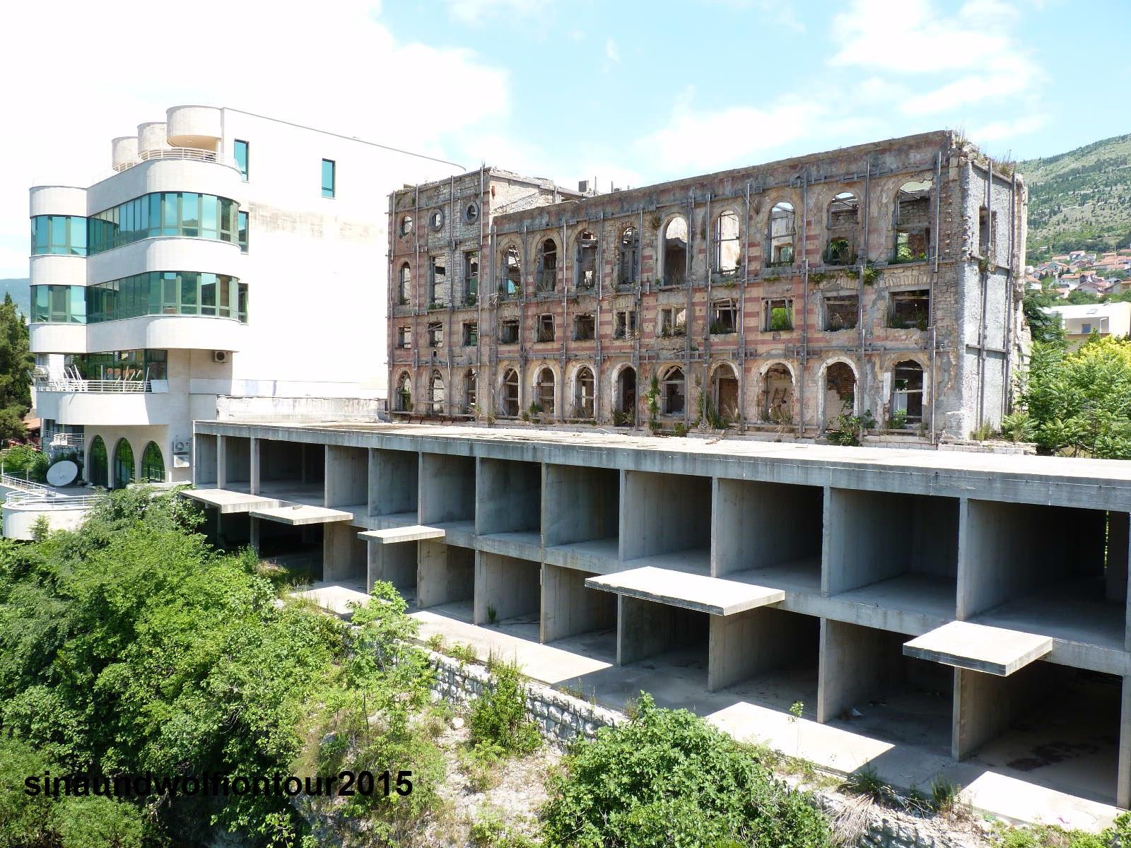 Mostar heute und einst