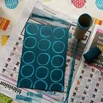 cadre photo abstrait et ronds - 4