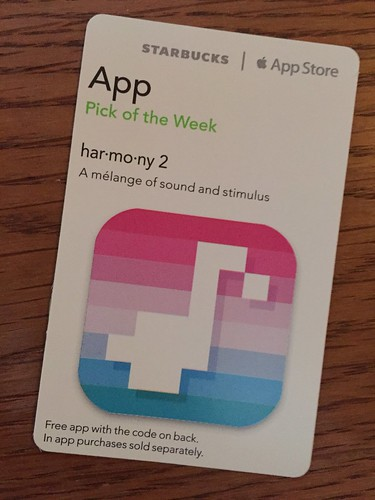Starbucks iTunes Pick of the Week - har•mo•ny 2