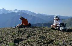 Tom and John on Little Autumn Peak