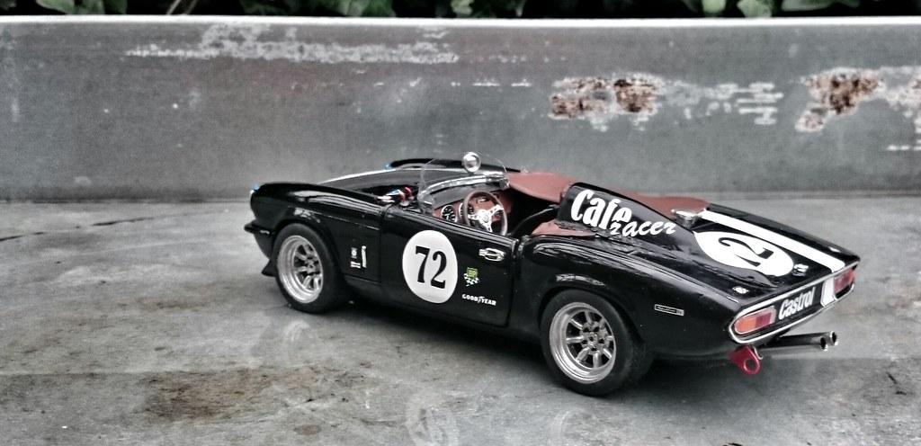 Triumph Race Car