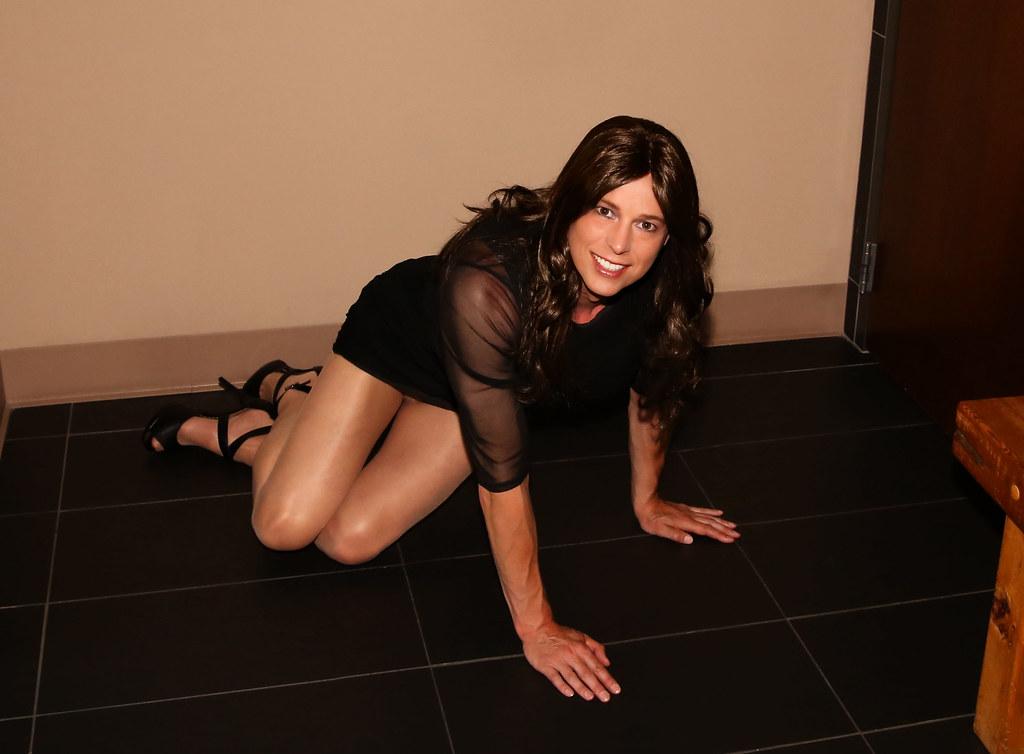 Sexy Crossdresser  Kellie  Flickr-5588