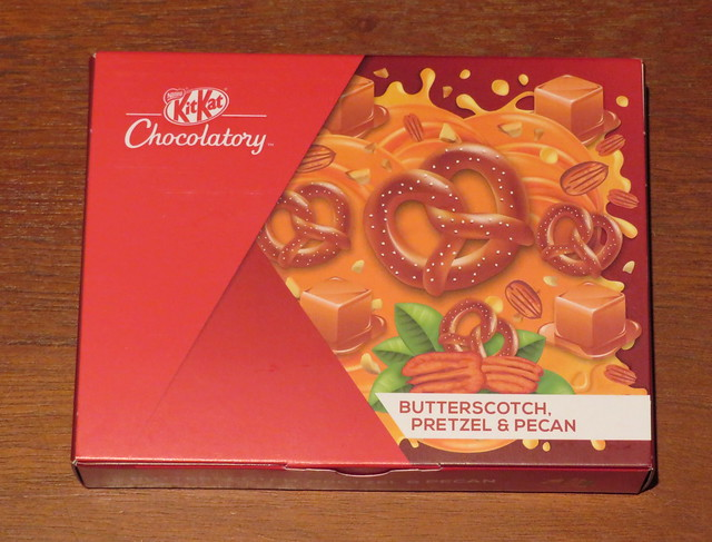 London Kit Kat Chocolatory - Butterscotch, Pretzel & Pecan
