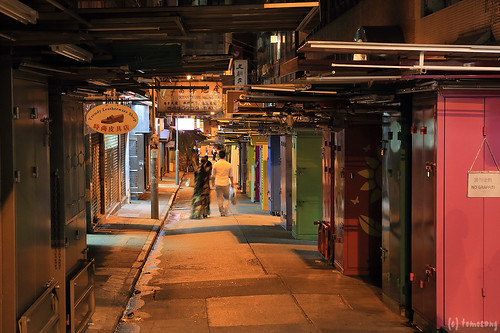 Night Street at Sheung Wan