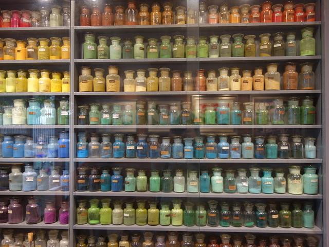 超多顏料,好壯觀@台中林之助紀念館