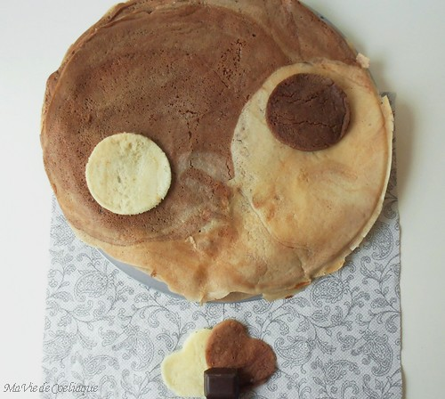 crêpes Yin Yang sans gluten