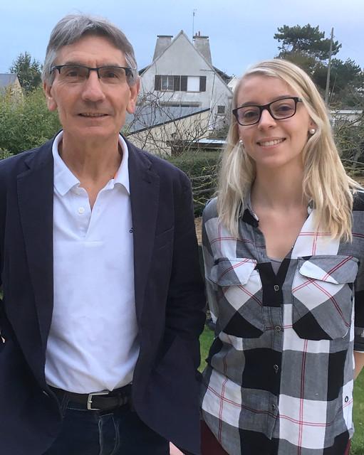 Campagne d'Yves Rouillé et Jodie Yonnet dans le Calvados