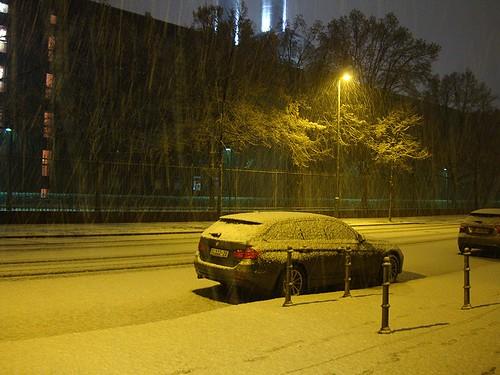 Starkschneefall Berlin Mitte
