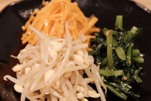ナムル3種盛り合わせ 津田沼 焼肉寿司 09
