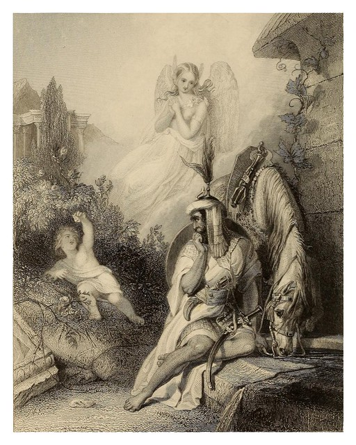 005-Lalla Rookh an oriental romance-1853 -E. H. Corbould
