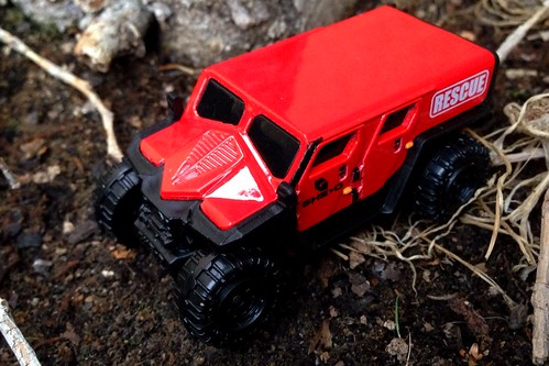 Matchbox - Ghe-O Rescue Vehicle