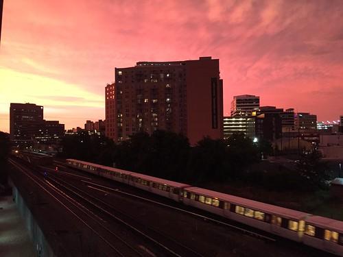 Sunset over Silver Spring, June 23
