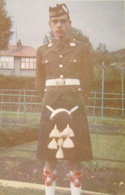 Scottish soldier