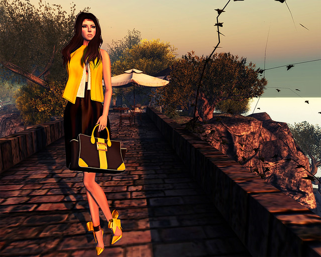 Flux sur Mer - ghee Portia outfit -  Second Life