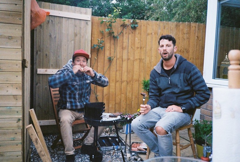 Boys at the BBQ