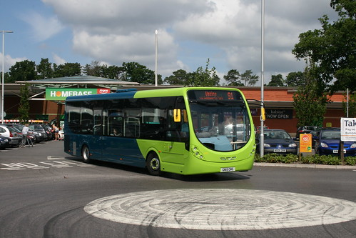 Arriva Southern Counties 4289 on Route 91, Knaphill Sainsbury's