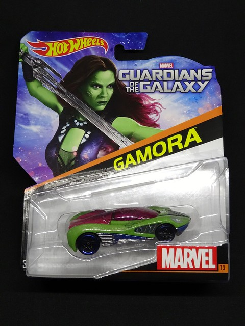 Hot Wheels Gamora