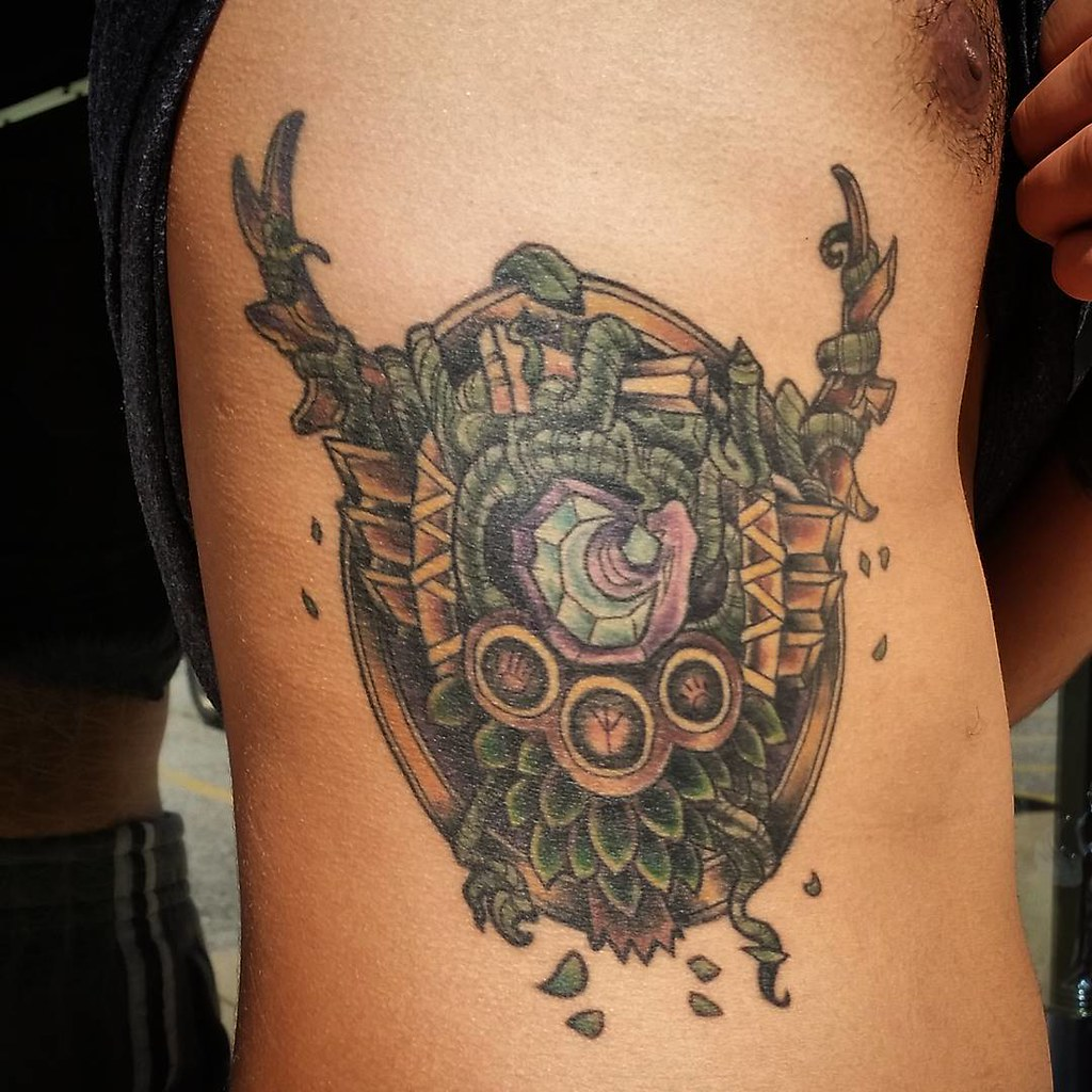 Wow Druid Tattoo Healed #wow #wo...