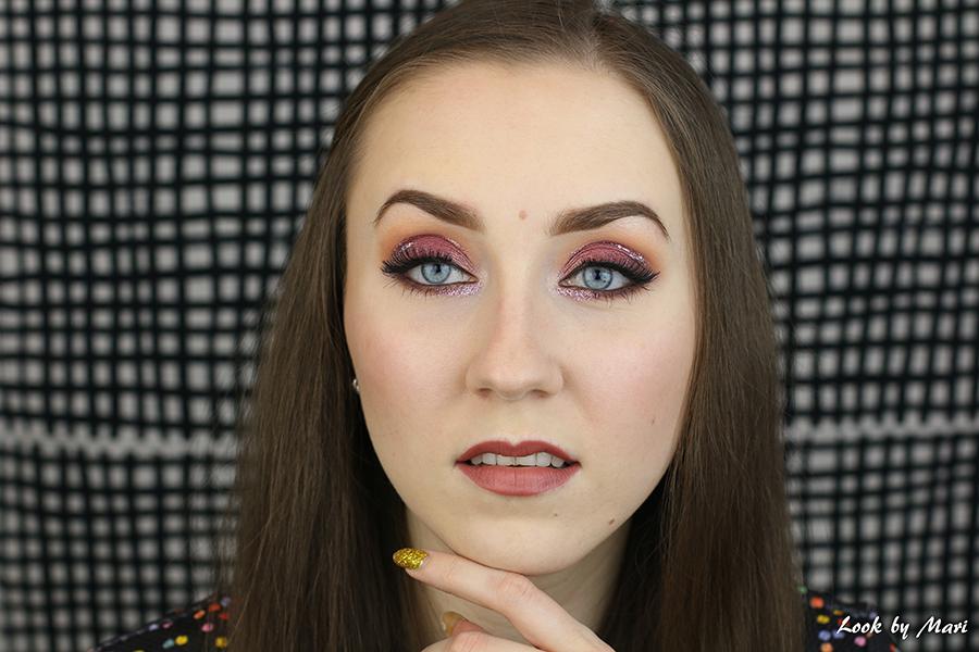 3 kimalle silmämeikki tutoriaali uuden vuoden meikki juhla meikki kimaltava silmämeikki