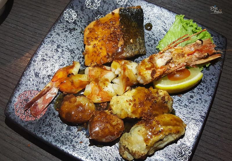 kazoku ai fire seafood teppanyaki