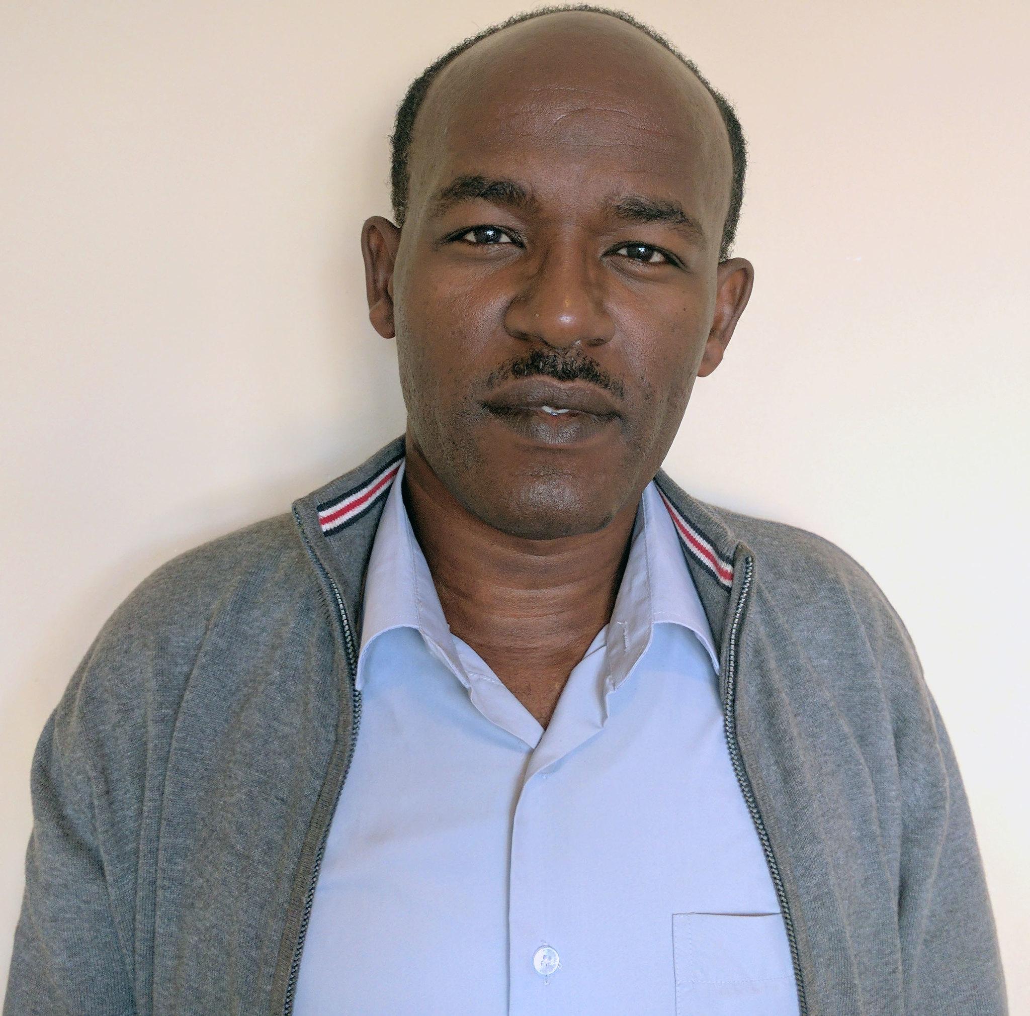 Tekleyohannis Birihanu (Phd) is African Chicken Genetic Gains' (ACGG) Sub National Coordinator in the Southern Nations and Nationalities Region in Ethiopia. (photo credit: ILRI / M. Tsegaye)