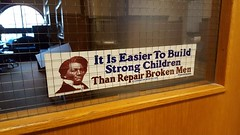 It's true. Frederick Douglass is doing an amazing job. Big impact.