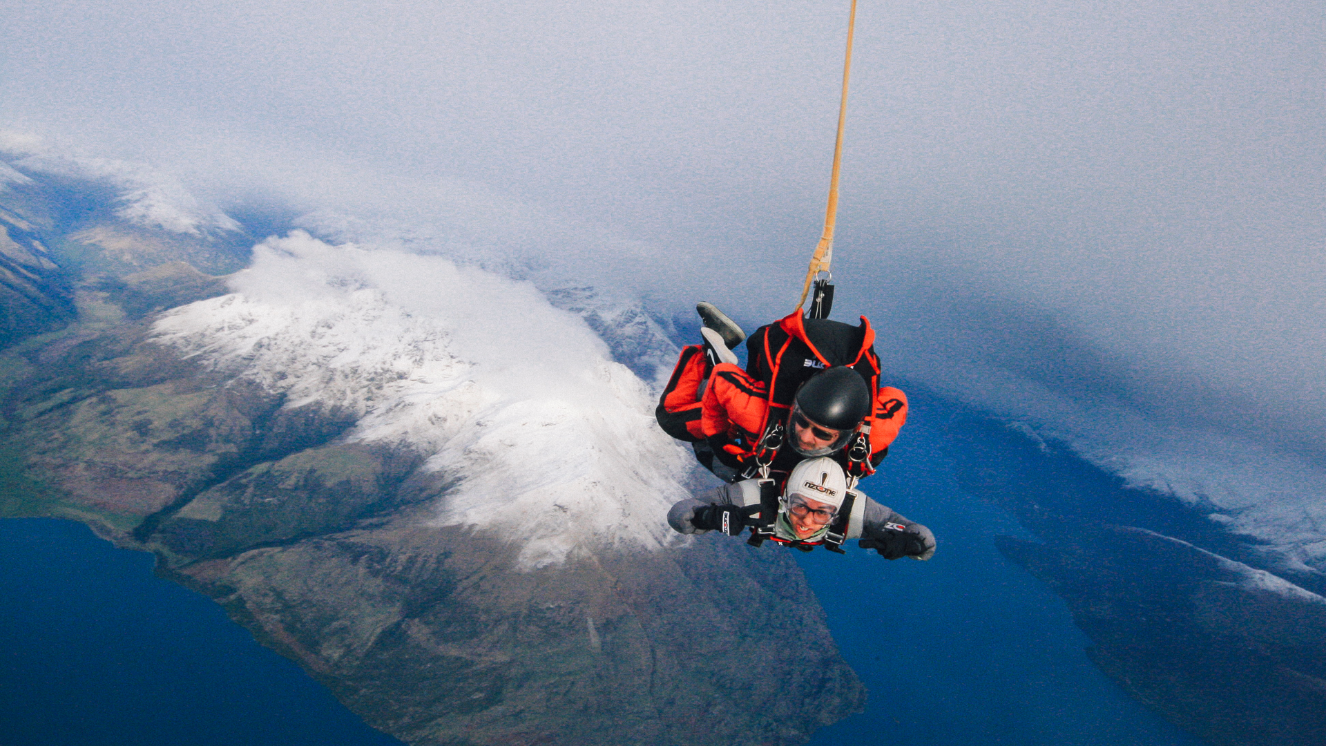 South Island, New Zealand - Skydiving Over Queenstown