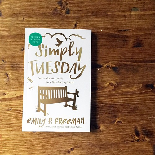 It's been a while since I've signed up to do a book review but I am seriously excited to be on this one. #SimplyTuesday