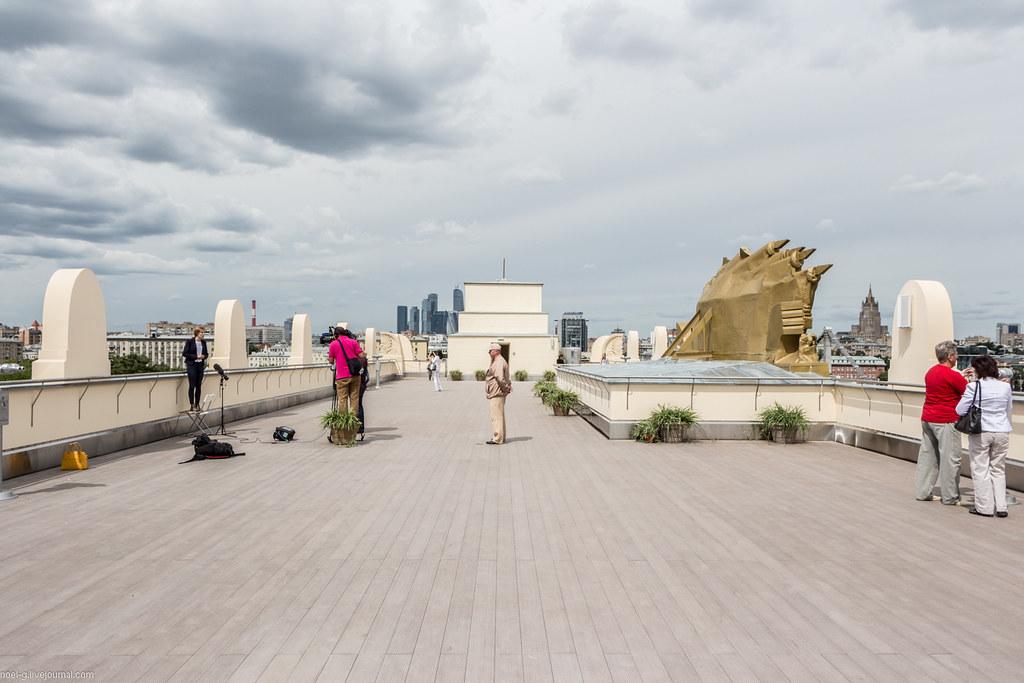 Парк Горького - смотровая площадка