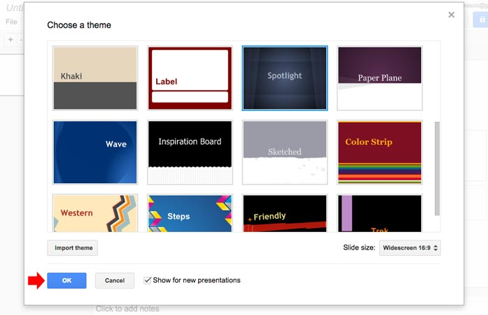 How to create powerpoint presentation step 4