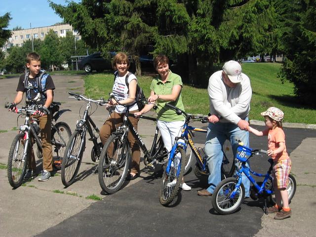Володимир Хомко велодоріжка