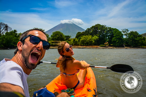 Conception Volcano Kayaking Isla de Ometepe