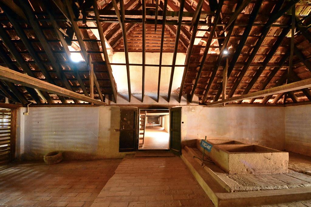 India Tamil Nadu Padmanabhapuram Palace Kitchen 2
