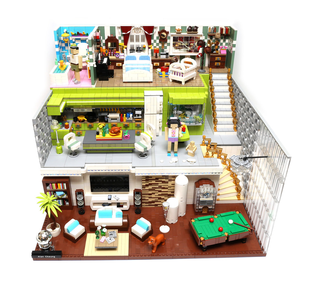 Lego Dream House Finalist In Acghk2015 Bathroom